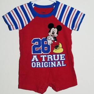 Disney Mickey Mouse Romper 12-18m